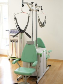 電動頚椎牽引装置の写真